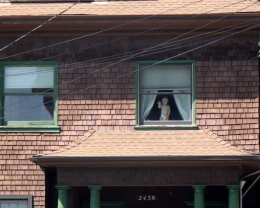 Baby in Berkeley Window deedsphoto