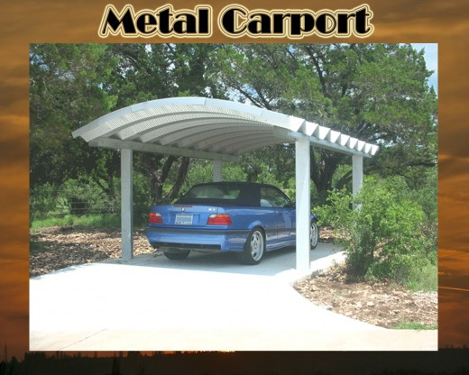 Wood or Metal Carports: Which can best protect your vehicle?