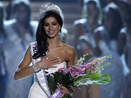 Miss USA pageant winner Rima Fakih