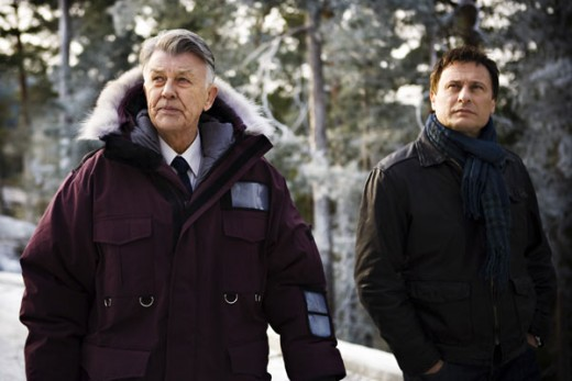Sven-Bertil Taube and Michael Nyqvist