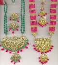 Jadau and Meenakari : The artistic Jewellery of Mogul pattern