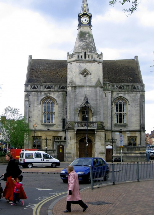 Town Hall of Banbury.