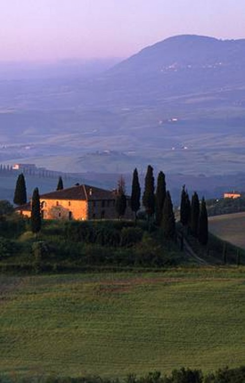 In the Tuscany region of Italy