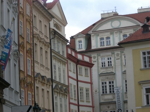 Where Kafka wrote, in Prague.