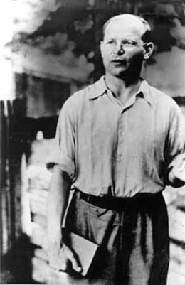 Bonhoeffer in Tegel military prison, 1943