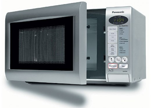 Warm your food in a microwave