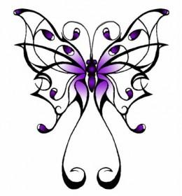 Tattoo like a butterfly