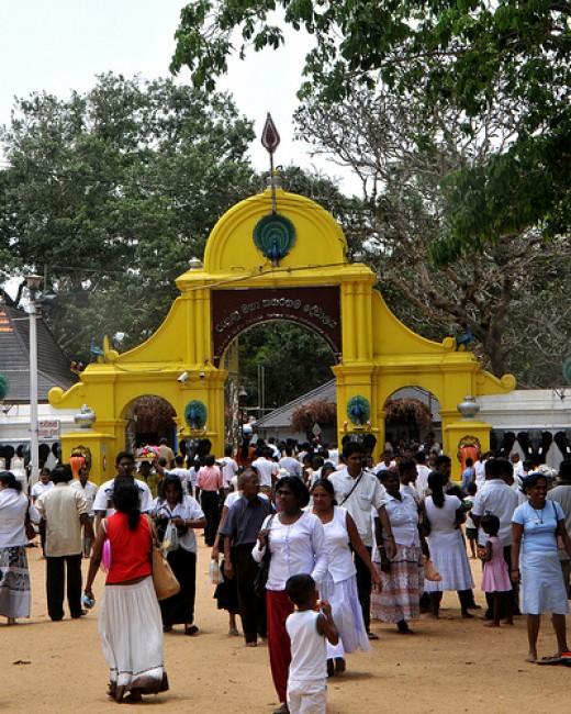 Kathirkamam Skanda templo, Sri Lanka