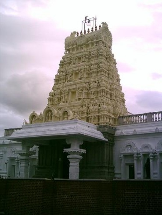 Highgate Murugan temple, London