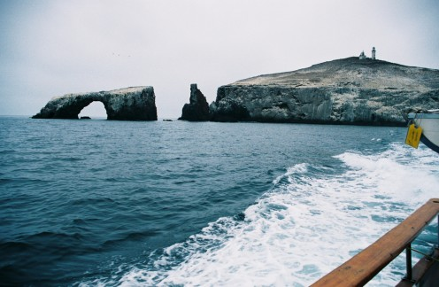Arch Rock, East Anacapa Island, Channel Islands  National Park.
