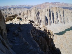 Mount Hitchcock from the Mount Whitney Trail, Sequoia National Park.