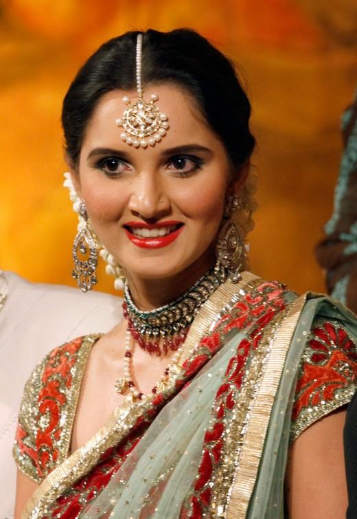 Sania Mirza - Bridal Wear