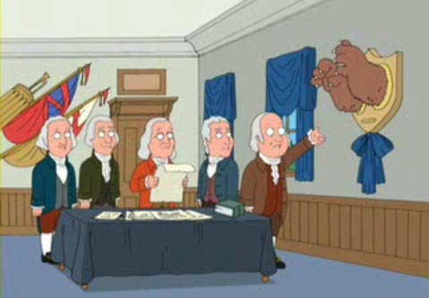 Cute take on right to bear arms from an episode of Family Guy