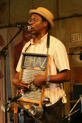 Washboard Chaz, New Orleans
