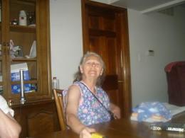Mom at my sister's bbq
