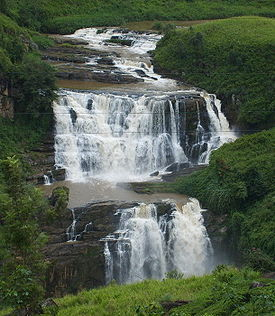 St' Claire's one of most beautiful waterfalls in Sri Lanka