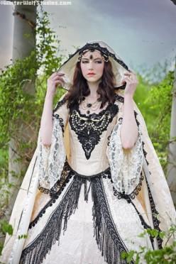 Gothic Inspired Wedding Dresses 105