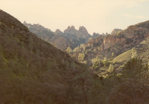 Pinnacles National Park.