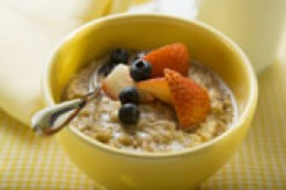 Eat your oatmeal!