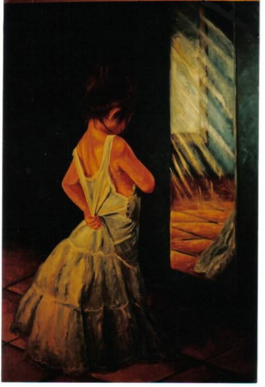 girl & mirror