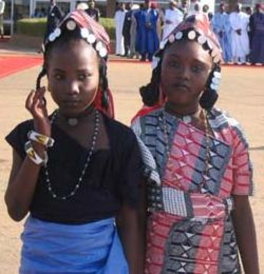 Healthy Children of Niger - Nature has it that because of the high child mortality, the women of Niger are blessed with the worlds highest fertility rate