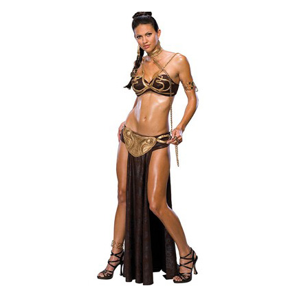 Slave Leia as a sexy Halloween costume