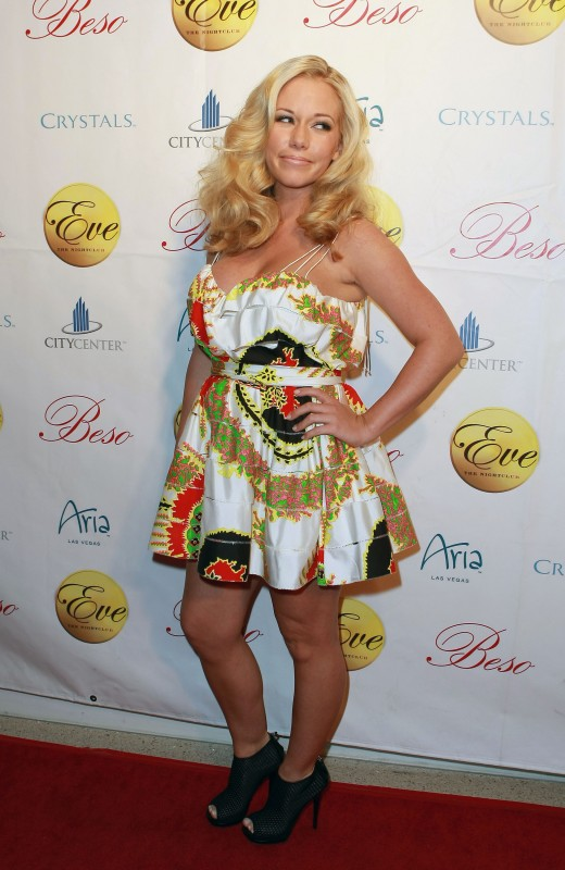 What was she thinking wearing this ugly dress?