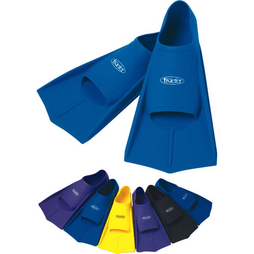 Kiefer Silicone Swim Training Fins help increase the power of your leg stroke.