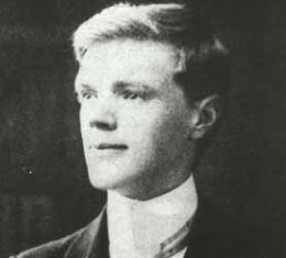 The poet as a young man.