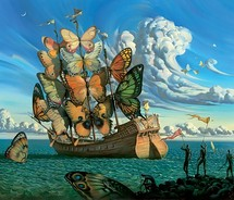 The Ship Of Death was written in late 1929 or 1930 when the poet was dying of tuberculosis.