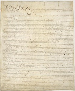 """The presidential oath of office is specified in here. It does not end with """"so help me God."""" Image courtesy US National Archives."""