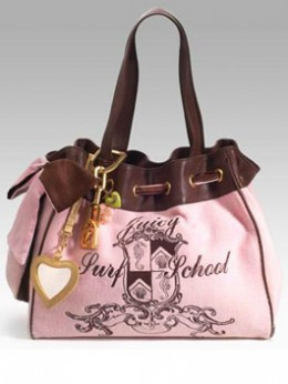 Juicy Couture Velour Daydreamer Bags not only look cute but also come in handy
