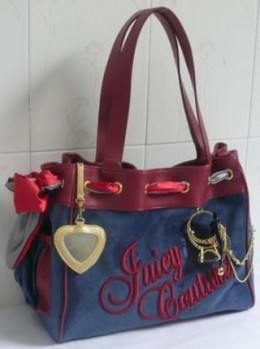Juicy Couture Velour Tote aka my one true (bag)
