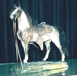 I still have this statue, although it is not in as good a shape as it was when I took this picture.