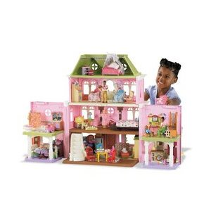You can buy a doll house online!