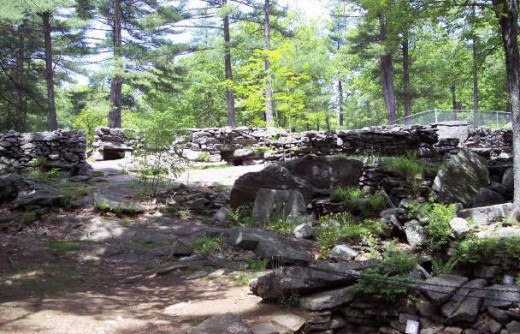 New Hampshire Mystery Hill Structures