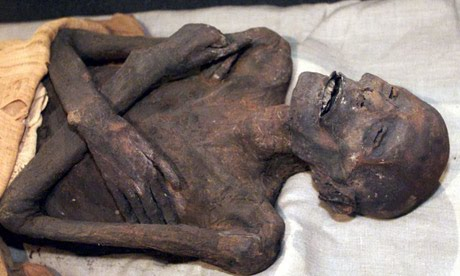 Red Headed Giant Mummy of Nevada