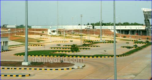 Air Port Mangalore Shut Down.