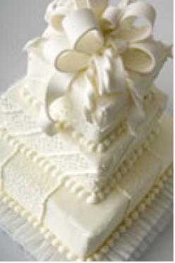 Weddings: Save Money: Let 'Em Eat Wedding Cake!