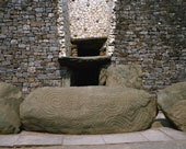 Passage Tomb, Newgrange, Boyne Valley, County Meath, Ireland.
