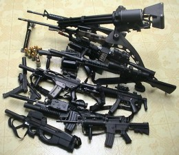 Yes, there are that many types of guns in airsoft.