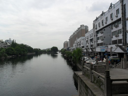 View from the bridge.