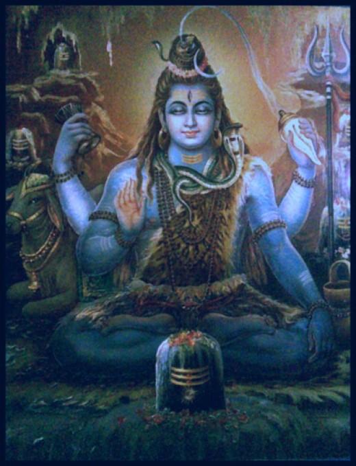 Shiva, el señor de Gnyana (conocimiento espiritual) y el destructor.