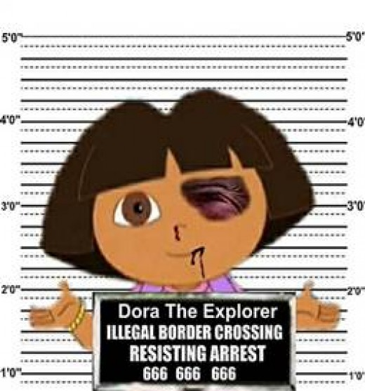 dora illegal immigrant pic