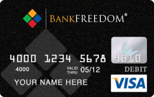 Black Bank Freedom MasterCard and Visa