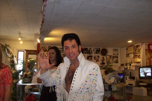 Elvis, who married our friends