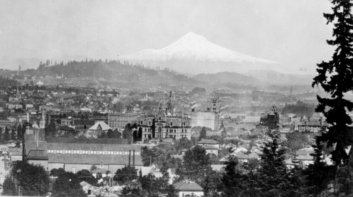 Portland in 1890. Image from Wikipedia