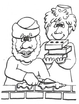 Abraham Coloring Pages - Church House Collection