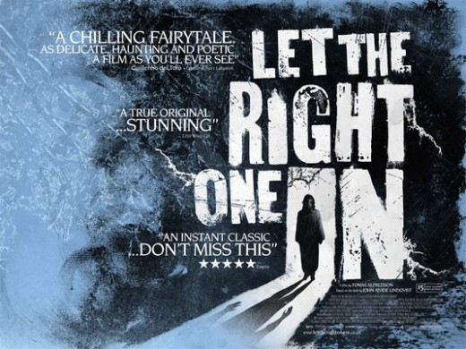 Let The Right One In - a review of this vampire horror film.