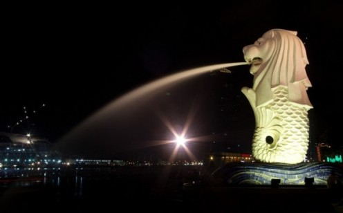 Merlion - The iconic feature of Singapore